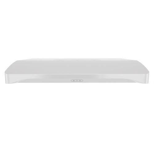 Broan® Elite 36-Inch Convertible Under-Cabinet Range Hood, White