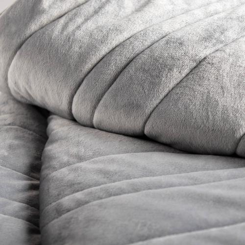 "Malouf Weighted Blanket, 48"" x 72"", 15 lbs, Ash"