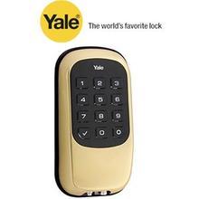 Brass Keyless Push Button Deadbolt