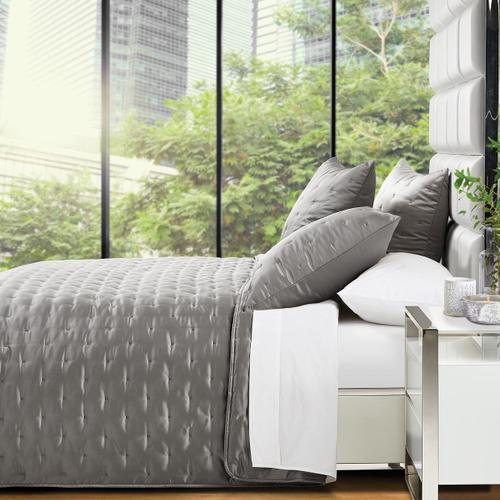 3pc Queen Quilt Set Platinum