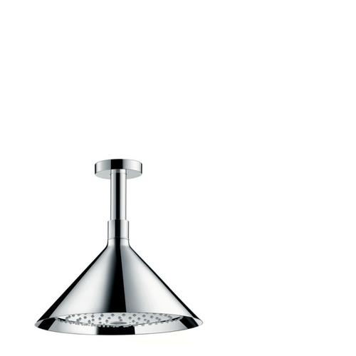 Chrome Showerhead 240 2-Jet with Ceiling Connector, 2.5 GPM