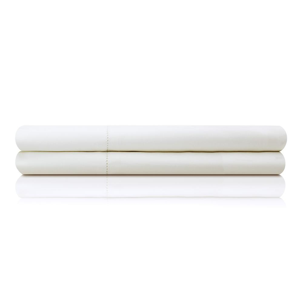 Product Image - Italian Artisan Sheet Set Queen Ivory