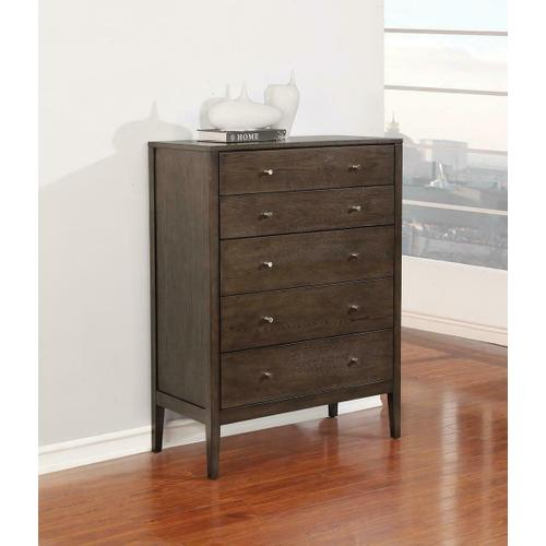 Lompoc Mid-century Modern Cappuccino Chest