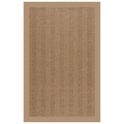 Capel Rugs - Islamorada-Herringbone Canvas Camel