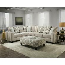 2 Piece Sectional w/ Queen Innerspring Sleeper