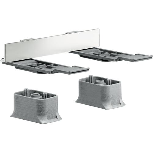 AXOR - Brushed Nickel Adapter Set