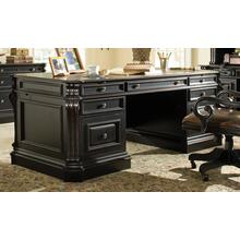 See Details - Telluride 76'' Executive Desk w/Wood Panels