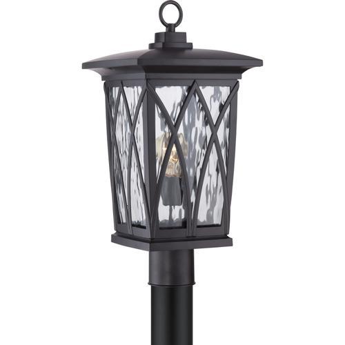 Quoizel - Grover Outdoor Lantern in Mystic Black