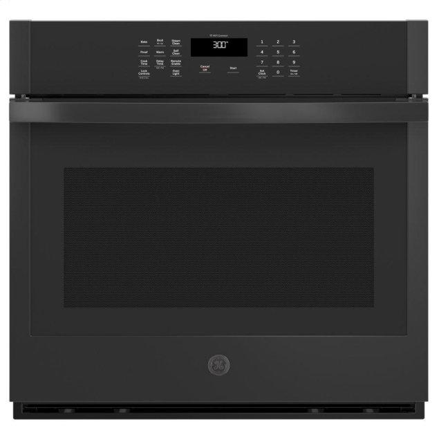 """GE 30"""" Smart Built-In Self-Clean Single Wall Oven with Never-Scrub Racks"""