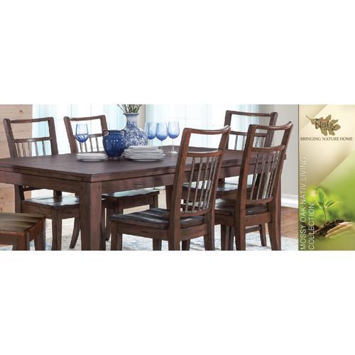 Mossy Oak Chair, Wood Seat