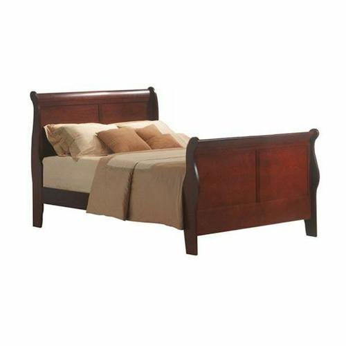 ACME Louis Philippe III Full Bed - 19528F - Cherry