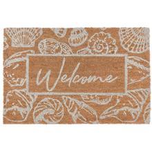 See Details - Doormat Seashells Natural 24x36