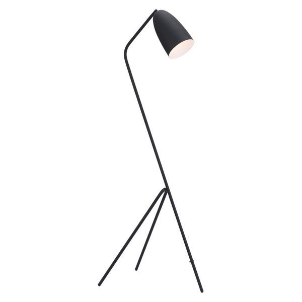 See Details - Jamison Floor Lamp Matte Black
