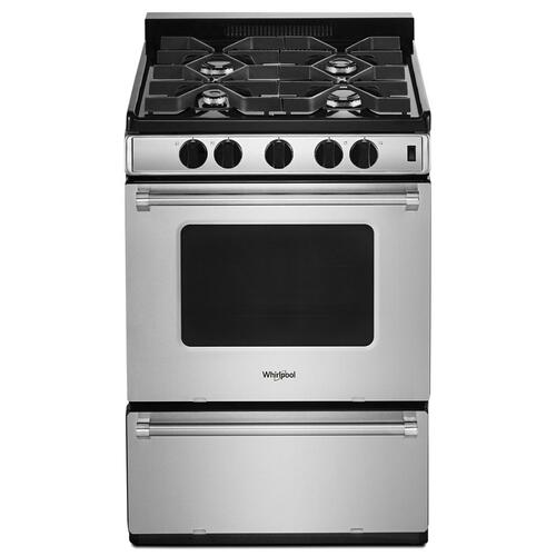 Gallery - 24-inch Freestanding Gas Range with Sealed Burners