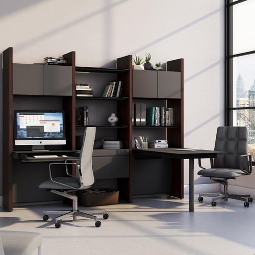 BDI Furniture - Semblance Systems ® 5413-PD in Charcoal Stained Ash Black