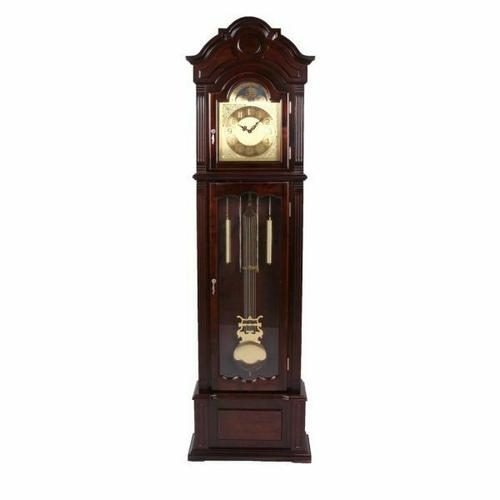 ACME Sebastian Grandfather Clock - 01402 - Dark Walnut