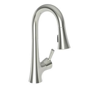 Polished Nickel - Natural Prep/Bar Pull Down Faucet