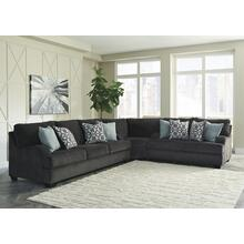 Charenton 3 Pc Sectional Charcoal