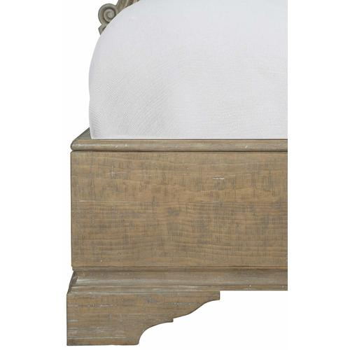 King-Sized Villa Toscana Panel Bed in Criollo (302)