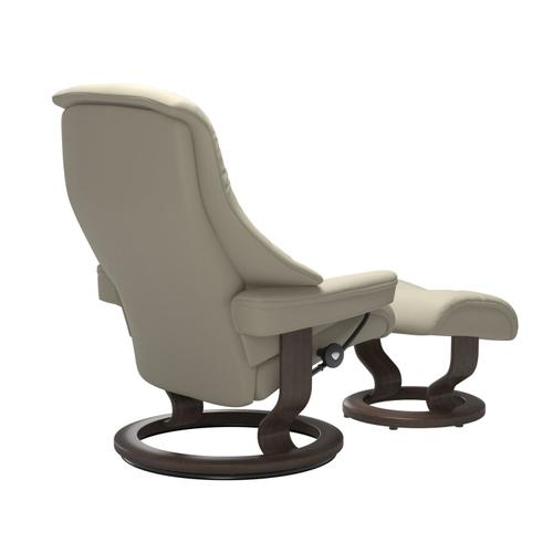 Stressless By Ekornes - Stressless® Live (L) Classic chair with footstool