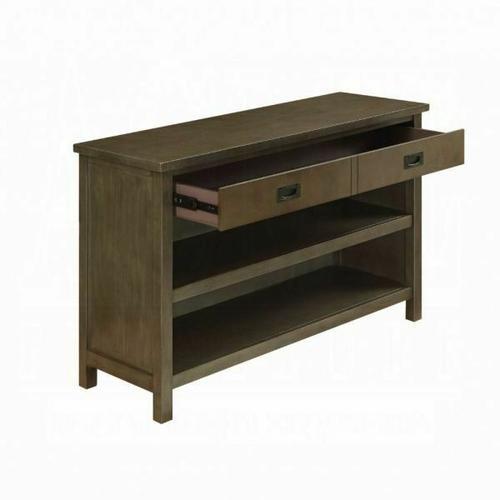 ACME Asteris Console Table - 90177 - Gray Oak