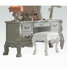 ACME Dresden Vanity Desk - 30670 - Antique White