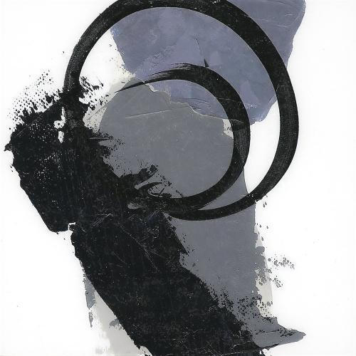 Blue Abstract Circle