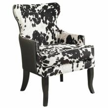 See Details - Angus Accent Chair in Black