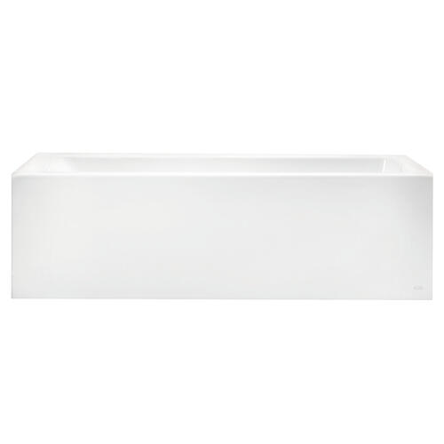 American Standard - Studio 60x30 Tub Above Floor Rough With Built-In Apron - Right Drain  American Standard - Arctic White