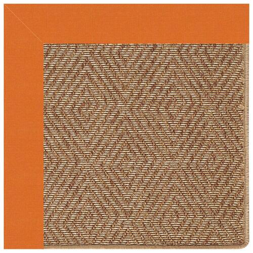 Capel Rugs - Islamorada-Diamond Canvas Tangerine