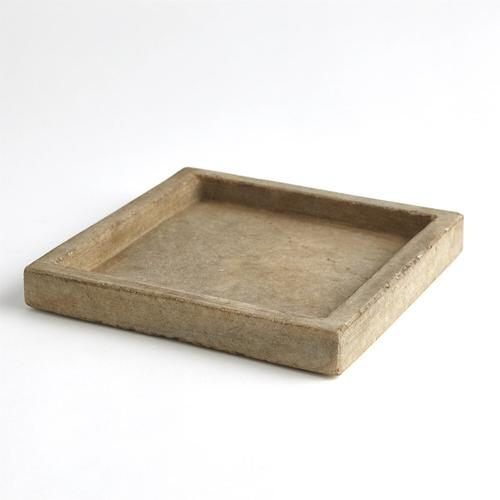 See Details - Marble Tray-Antiqued White
