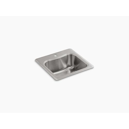 "20"" X 20"" X 8-5/16"" Top-mount Single-bowl Bar Sink With Single Faucet Hole"