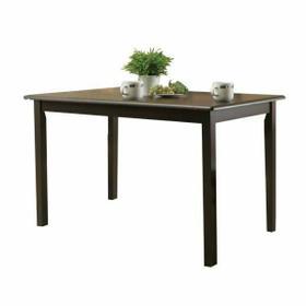 ACME Serra II Dining Table - 00860 - Cappuccino