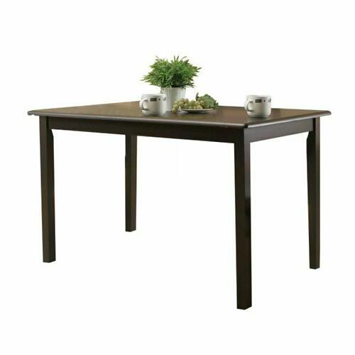 ACME Serra II Dining Table - 00860 - Cappuccino