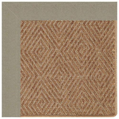 """Capel Rugs - Islamorada-Diamond Canvas Taupe - Rectangle - 24"""" x 36"""""""