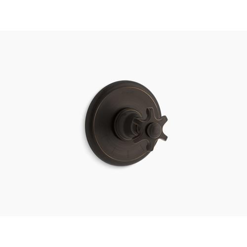 Kohler - Oil-rubbed Bronze Thermostatic Valve Trim With Prong Handle