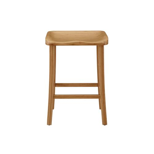 "Tulip 26"" Counter Height Stool, Caramelized, (Set of 2)"
