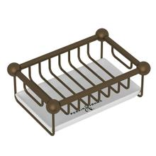 Free Standing Soap Basket - English Bronze