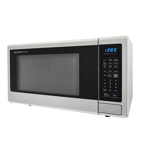Gallery - 2.2 cu. ft. 1200W Stainless Steel Countertop Microwave Oven