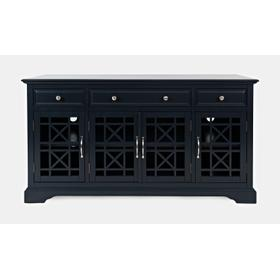 "Craftsman 60"" Media Unit - Navy"