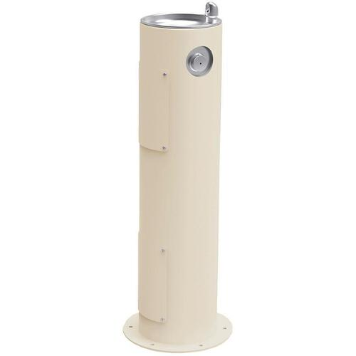 Elkay - Elkay Outdoor Fountain Pedestal Non-Filtered, Non-Refrigerated Beige