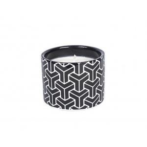 Black Geometric Candle - Midsummer Nights