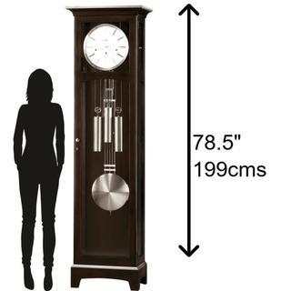 See Details - Howard Miller Urban Floor II Grandfather Clock 610866