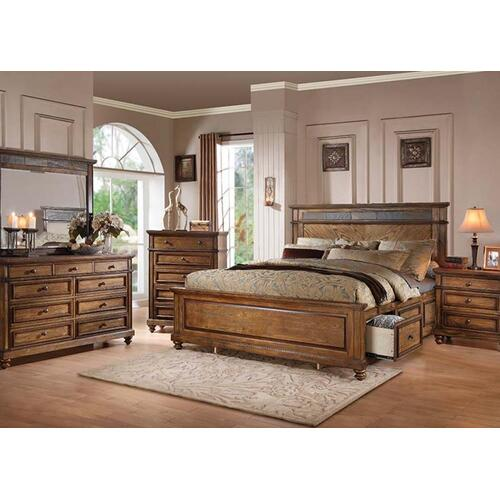 Acme Furniture Inc - Arielle Storage Cal. King Bed
