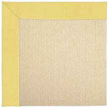 "Creative Concepts-Beach Sisal Canvas Buttercup - Rectangle - 24"" x 36"""