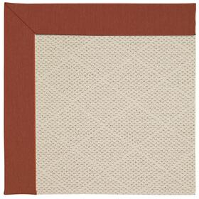 Creative Concepts-White Wicker Canvas Brick Machine Tufted Rugs
