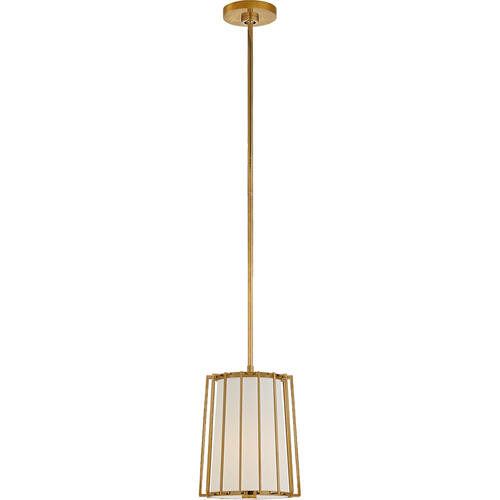 Barbara Barry Carousel 1 Light 10 inch Soft Brass Lantern Pendant Ceiling Light, Small Tapered