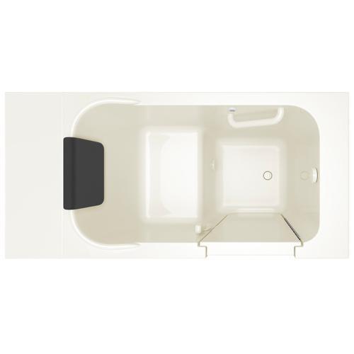 Gelcoat Premium Series 28x48-inch Walk-in Bathtub  Soaking Tub  American Standard - Linen
