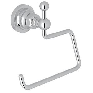 Polished Chrome San Giovanni Wall Mount Open Toilet Paper Holder Product Image