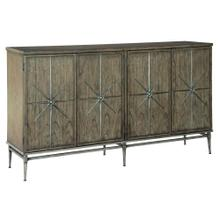 Product Image - 2-8022 Four Door Star Entertainment Center